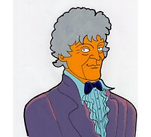 Doctor Who - Jon Pertwee Photographic Print