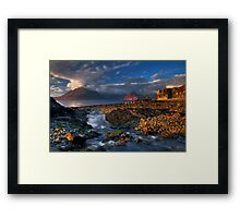 Elgol Burn and the Cuillin. Isle of Skye. Scotland. Framed Print