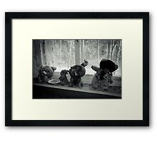 It's in the Eyes Framed Print