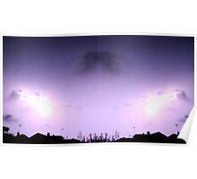 Lightning Art 41 Poster