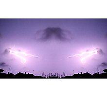Lightning Art 42 Photographic Print