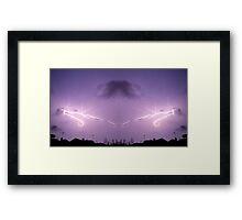 Lightning Art 43 Framed Print