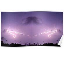 Lightning Art 43 Poster
