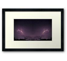 Lightning Art 44 Framed Print