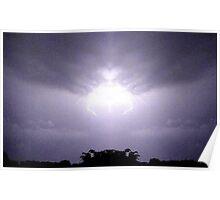 Lightning Art 46 Poster