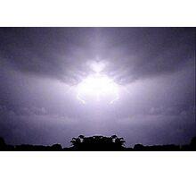 Lightning Art 46 Photographic Print