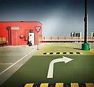 The car park by Adrian Donoghue