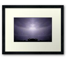 Lightning Art 47 Framed Print