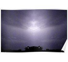 Lightning Art 47 Poster