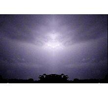 Lightning Art 47 Photographic Print