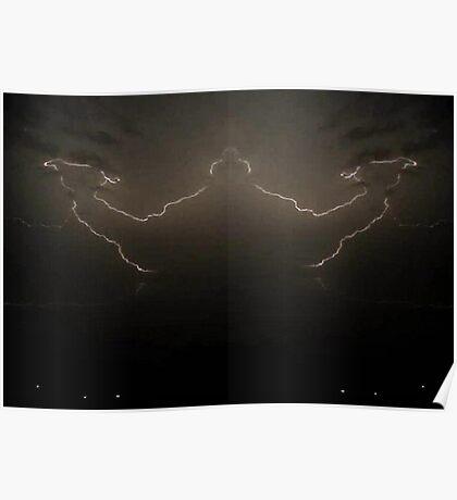 Lightning Art 49 Poster
