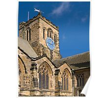 St Mary's church, Scarborough, UK. Poster