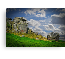 The Cow and Calf Canvas Print