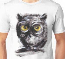 """""""Little owl boy (big)"""" Unisex T-Shirt"""