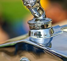 "1927 Franklin Sedan ""Rampant Lion"" Hood Ornament by Jill Reger"
