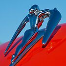 1960 Nash Metropolitan &quot;Nude&quot; Hood Ornament by Jill Reger