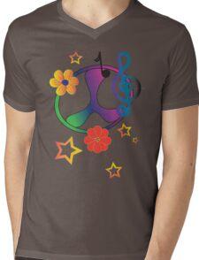 Gradient Peace  Mens V-Neck T-Shirt