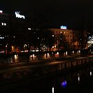 The lights on the water. by bekkalily