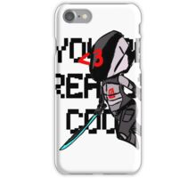 You're Really Cool, Zer0 iPhone Case/Skin