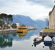 Ancorata a Riva del Garda by Martina Fagan