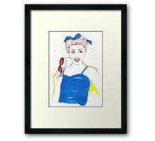 Peggy Sue Framed Print