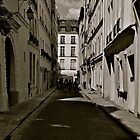 Streets of Paris by Eirinn