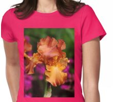 Butterscotch And Pink Womens Fitted T-Shirt
