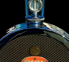 "1927 Bugatti Replica ""Boyce MotoMeter"" Hood Ornament by Jill Reger"