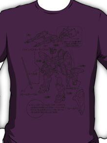 GUNDAM INSTRUCTIONS T-Shirt