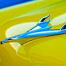 1956 Chevrolet Bel Air Hood Ornament by Jill Reger