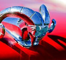 1952 Dodge Coronet Diplomat Club Coupe Hood Ornament by Jill Reger