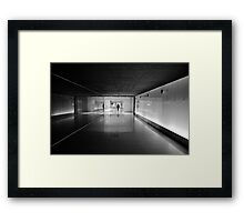 Urban Solitude Framed Print