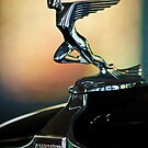 1932 Auburn 12-160 Speedster Hood Ornament by Jill Reger