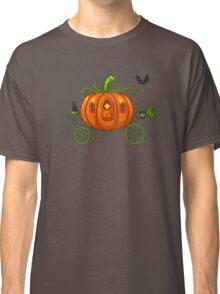 Pixel Pumpkin Carriage Classic T-Shirt