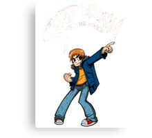 Scott Pilgrim Canvas Print