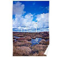 Ovenden Windfarm I (Colour) Poster