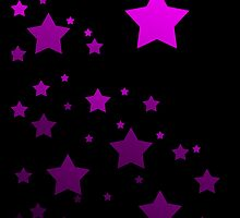 Pretty Purple Stars by autobotchari