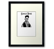 Smile Time Framed Print