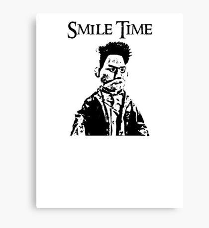Smile Time Canvas Print