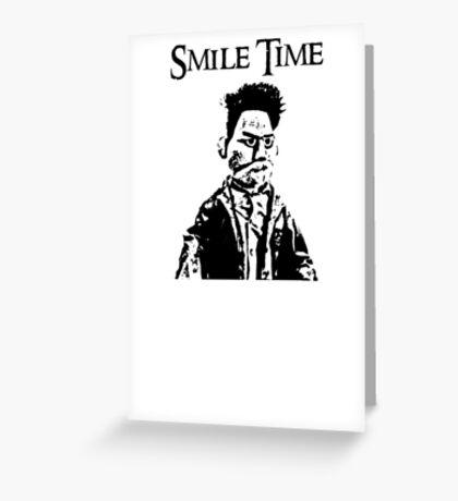 Smile Time Greeting Card