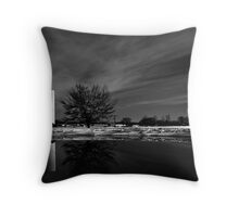 Day After Snow Day  Throw Pillow