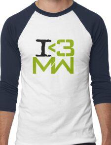 I <3 MW Men's Baseball ¾ T-Shirt