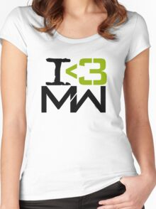 I <3 MW Women's Fitted Scoop T-Shirt