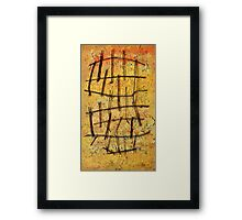 The Earth's Shield Framed Print