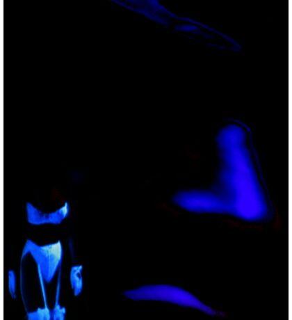 Blue Ghosts Sticker