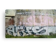 The Writing's on the Wall Metal Print