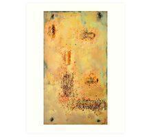 Desert Plains Art Print