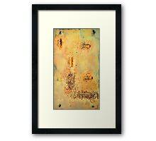 Desert Plains Framed Print