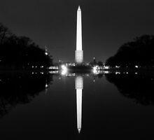 Reflective Pond by streetwanderer