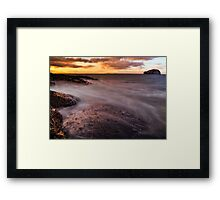 North Berwick Exposure (Please View Larger) Framed Print